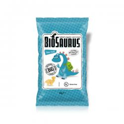 Snack con sal marina sin gluten Bio 50g BioSaurus - Imagen 1