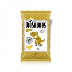 Snack sabor queso sin gluten Bio 50g BioSaurus - Imagen 1