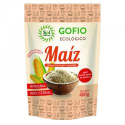 Gofio de Maiz Integral Bio 400g Sol Natural - Imagen 1