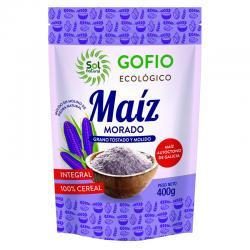 Gofio de Maiz Morado Integral Bio 400g Sol Natural - Imagen 1