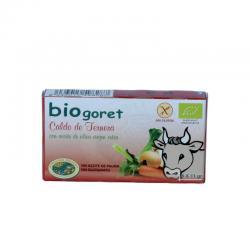 Caldo de ternera en cubitos bio 6x11g BioGoret - Imagen 1