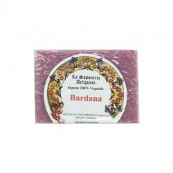 Jabon de Bardana 100g La saponeria artigiana - Imagen 1