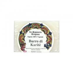 Jabon de manteca de karite 100g La saponeria artegiana - Imagen 1