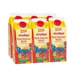 Zumo de frutos rojos bio 6x750ml Voelkel - Imagen 1