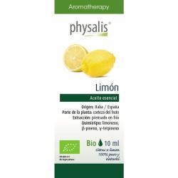 Aceite esencial de limon bio 30ml Physalis - Imagen 1