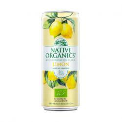 Refresco Isotonico Limon sin gas Bio 330ml Native Organics - Imagen 1