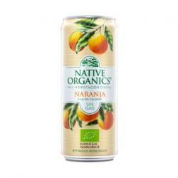 Refresco Isotonico Naranja sin gas Bio 330ml Native Organics - Imagen 1