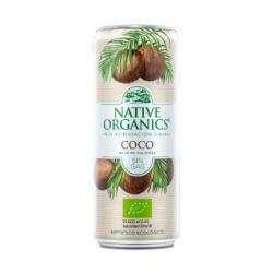 Refresco Isotonico Coco sin gas Bio 330ml Native Organics - Imagen 1