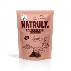 Avena natural en polvo con chocolate 1Kg Natruly - Imagen 1