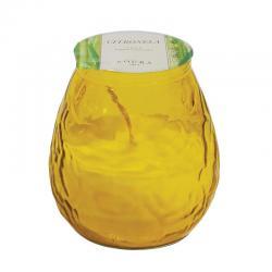 Vela perfumada citronela gran bistrot amarilla Roura - Imagen 1