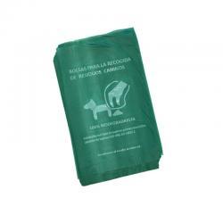 Bolsa Recogida Residuos Caninos 20x33 100% Biodegradable 100 unds - Imagen 1