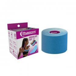 Kinesiology tape Azul 5x5 Physiocare - Imagen 1