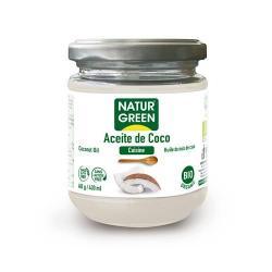 Aceite de coco bio 430ml Naturgreen - Imagen 1