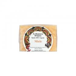 Jabon a la miel 100g La saponeria artigiana - Imagen 1