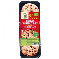 Cookies Trigo Sarraceno integral con Chocolate bio 170g Sol Natural - Imagen 1