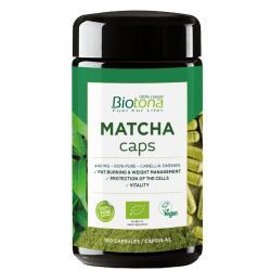 Te Matcha Bio 100 capsulas Biotona - Imagen 1