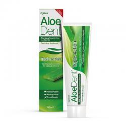 Dentifrico Triple Accion Aloe y Q10 100ml Aloe Dent - Imagen 1