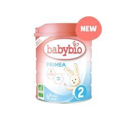 Leche Primea 2 (6 a 12 meses) bio 800g Babybio - Imagen 1