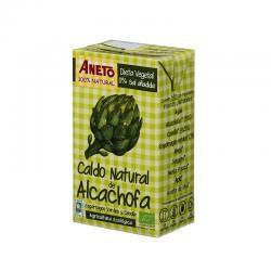 Caldo de alcachofa y esparragos Bio 1L Aneto - Imagen 1