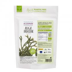 Alga Percebe (Codium) deshidratado Bio 50g Algamar - Imagen 1