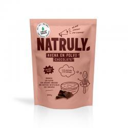 Harina de Avena sabor Chocolate Bio 500g Natruly - Imagen 1