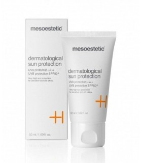 dermatological sun protection SPF50+ Mesoestetic
