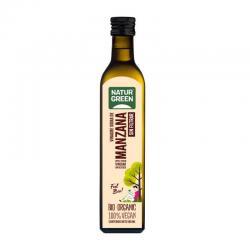 Vinagre de Sidra de Manzana sin filtrar Bio 500ml Naturgreen - Imagen 1