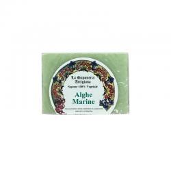 Jabon de algas marinas 100g La saponeria artigiana - Imagen 1