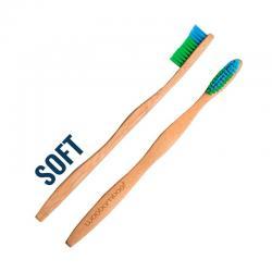 Cepillo de Dientes Bambu Adulto (Suave) Zero Waste Woobamboo - Imagen 1