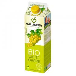 Zumo de Uva Blanca Dulce Bio 1L Hollinger - Imagen 1