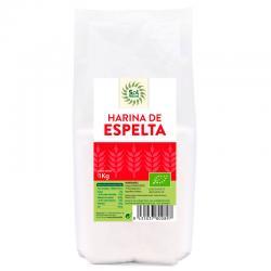 Harina de espelta blanca Bio 1kg Sol Natural - Imagen 1