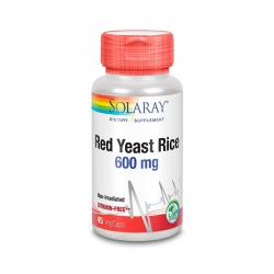 Red Yeast Rice 600mg 45vcaps Solaray - Imagen 1