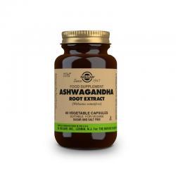 Ashwagandha extracto de raiz 60vcaps Solgar - Imagen 1