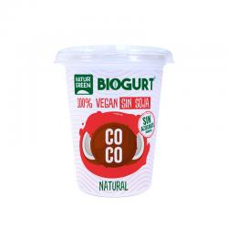 Biogurt Coco Nature Bio 400g Naturgreen - Imagen 1