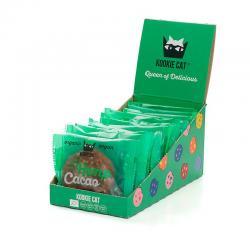 Galleta con cañamo & cacao Bio 12x50g Kookie Cat - Imagen 1