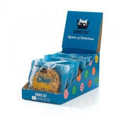 Galleta con chia & limon Bio 12x50g Kookie Cat - Imagen 1
