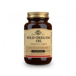 Aceite de oregano silvestre (Origanum vulgare) 60 perlas Solgar - Imagen 1
