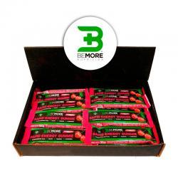 Barrita Gummie +Energy Cereza con Cafeina 24x35g BeMore - Imagen 1