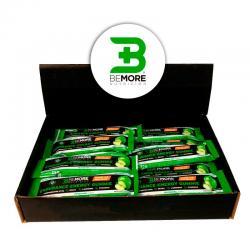 Barrita Gummie Resistencia +Energy Manzana sin Cafeina 24x35g BeMore - Imagen 1