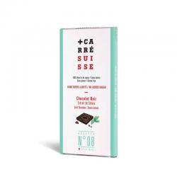 Tableta chocolate negro 53% con stevia 100g Carre Suisse - Imagen 1