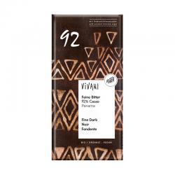 Chocolate negro 92% bio 80g Vivani - Imagen 1