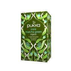 Pukka Te verde matcha y menta Bio 20 filtros - Imagen 1