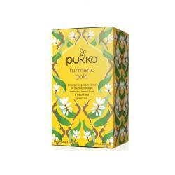 Pukka Turmeric gold (curcuma) infusion Bio 20 filtros - Imagen 1