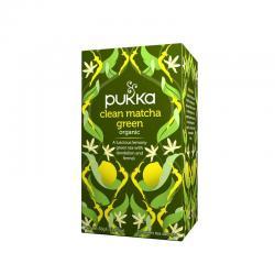 Pukka Clean Matcha Green infusion Bio 20 filtros - Imagen 1