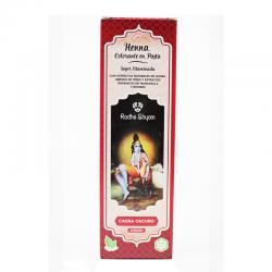 Henna caoba oscuro pasta 200g Radhe Shyam - Imagen 1