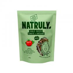 Kale chips tomate y oregano Bio 30g Natruly - Imagen 1