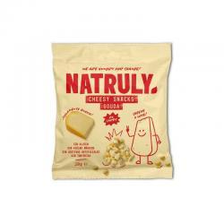 Cheesy Snack Queso Gouda Crujiente 20g Natruly - Imagen 1