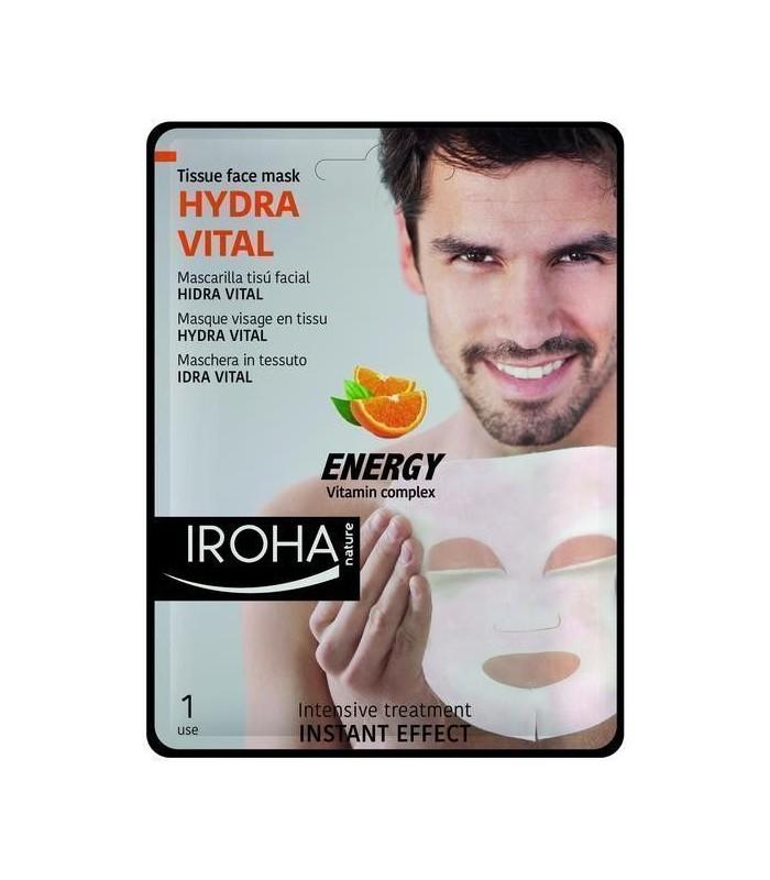 Mascarilla HIDRA VITAL Hombre - Vitamin Complex Irhoa