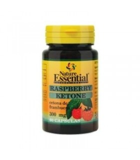 KETONA DE FRAMBUESA 300MG 60 CAP NATURE ESSENTIAL