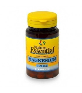 magnesio 300mg 50 tabletas nature essential